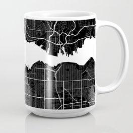 Vancouver - Minimalist City Map Coffee Mug