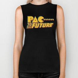 Pac to the Future Biker Tank