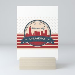 Happy Oklahoma Day Mini Art Print