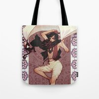ali Tote Bags featuring Ali by Jasmin Darnell