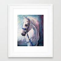 horse Framed Art Prints featuring Horse by Slaveika Aladjova