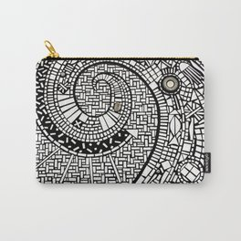Oceana in Motion Mosaic Carry-All Pouch