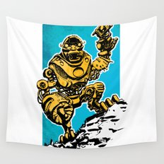 Roboman Wall Tapestry