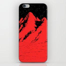 Pico rosso iPhone Skin