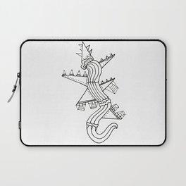 Spike Lizard Laptop Sleeve