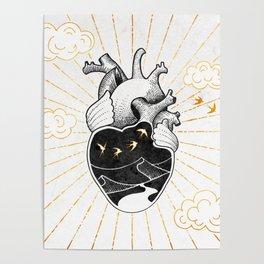 Desert Heart Inktober :: More Magick Poster