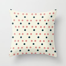 Triangle Dot Throw Pillow
