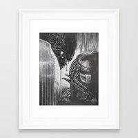scary Framed Art Prints featuring Scary by BH1215