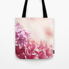 Dreamy pink hydrangea - Flower - Floral Tote Bag