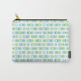 Overlapping circles, rings and dots Carry-All Pouch