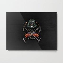 polo black label Metal Print
