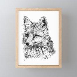 Oh, For Fox Sake Framed Mini Art Print