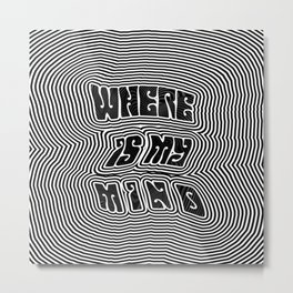 Where Is My Mind (Trippy) Metal Print
