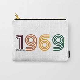 Unruly Retro 1969 Print Carry-All Pouch