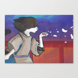 Nom as Haku Canvas Print