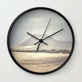 The Dunes at Corralejo Beach Wall Clock