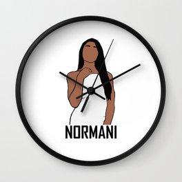 Normani Kordei Wall Clock