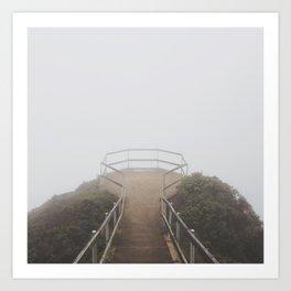 Muir Beach Overlook Art Print