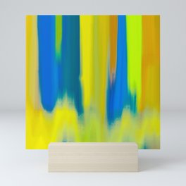 Strong Colors Rising Mini Art Print
