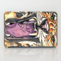 jaws iPad Cases featuring Jaws by Heaven7