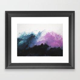 Nuit blanche Framed Art Print