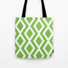 Green Diamond Tote Bag