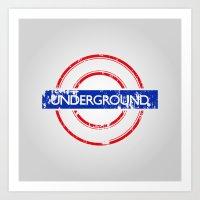 velvet underground Art Prints featuring Underground by eARTh