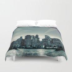 Manhattan Night Duvet Cover