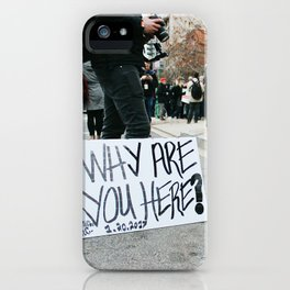 2017 Presidential Inauguration iPhone Case