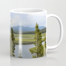 Yellowstone River Valley View Coffee Mug