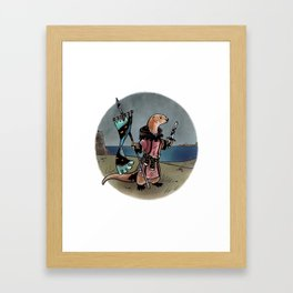 Ready and Waiting Framed Art Print