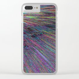 Re-Created Rapture 8 by Robert S. Lee Clear iPhone Case