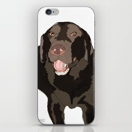 Chocolate Lab iPhone Skin