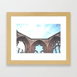 Sky Ruin Framed Art Print