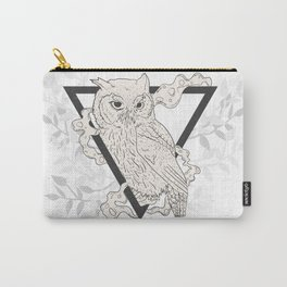 Owl Boho Carry-All Pouch