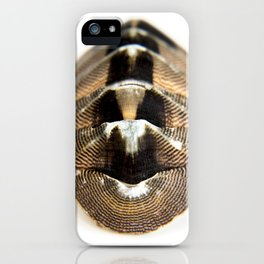 lines and blemistes iPhone Case