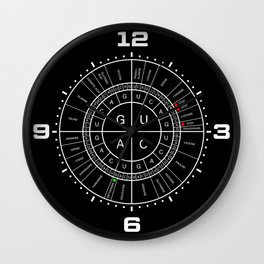 mRNA CODON WHEEL Wall Clock
