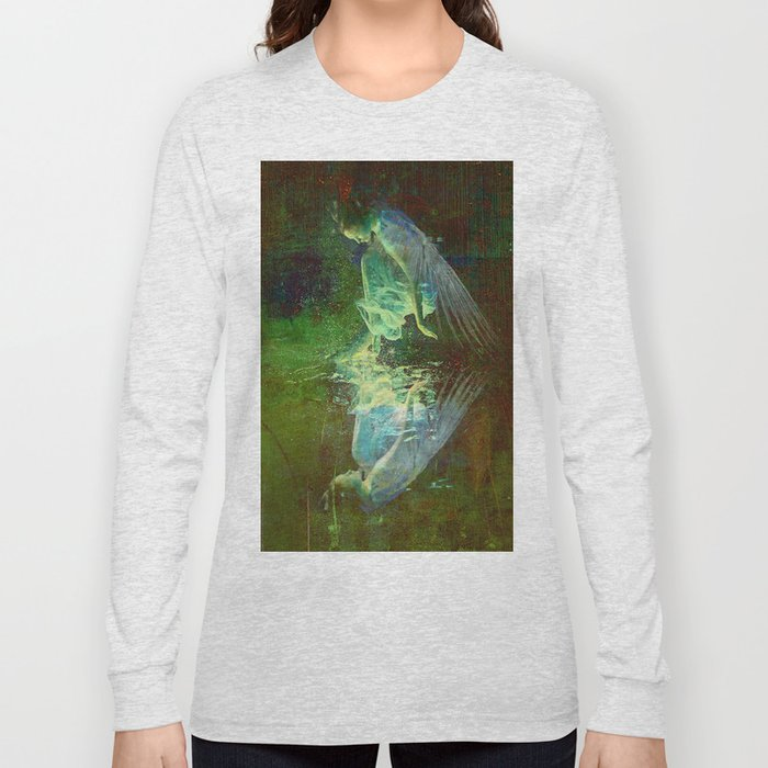The reflection of the angel Long Sleeve T-shirt