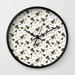 Winter Celebrations  Wall Clock