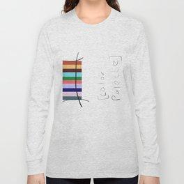 A Color Palette Long Sleeve T-shirt