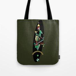 absinthe: red Tote Bag