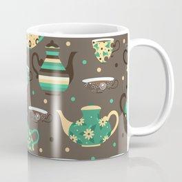 Tea pattern. Coffee Mug