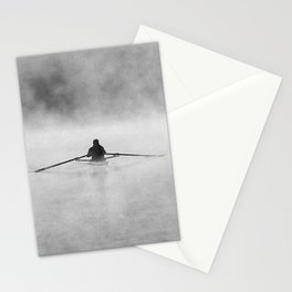 Rowing On The Chattahoochee Stationery Cards