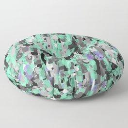 Duck Egg Scrambled Floor Pillow