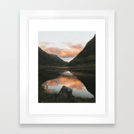 Time Is Precious - Landscape Photography Framed Art Print