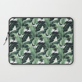 Tropical Banana Leaf Laptop Sleeve