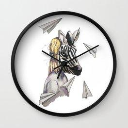 ease of dreams Wall Clock
