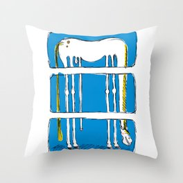 Jolly Jumper Throw Pillow