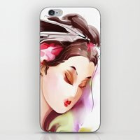 japanese iPhone & iPod Skins featuring Japanese by tatiana-teni