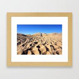 Kelso Dunes Framed Art Print